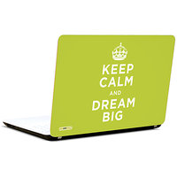 Pics And You Keep Calm Dream Big 3M/Avery Vinyl Laptop Skin Sticker Decal-SL013