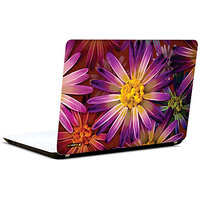 Pics And You Purple Flower Abstract 3M/Avery Vinyl Laptop Skin Sticker Decal - FL001