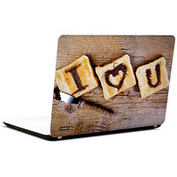 Pics And You I Love You 3 3M/Avery Vinyl Laptop Skin Sticker Decal-LV092