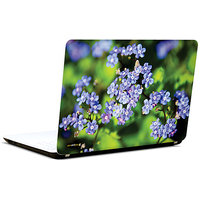 Pics And You Purple Flowers In Garden 3M/Avery Vinyl Laptop Skin Sticker Decal - FL002