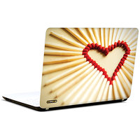 Pics And You Amazing Heart Design 3M/Avery Vinyl Laptop Skin Sticker Decal-LV072
