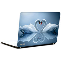 Pics And You Swans In Love 3M/Avery Vinyl Laptop Skin Sticker Decal-LV067
