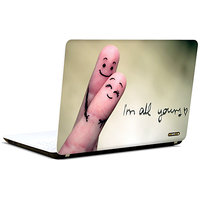 Pics And You I Am All Yours 3M/Avery Vinyl Laptop Skin Sticker Decal-LV101