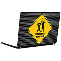 Pics And You Being Monitored Humour 3M/Avery Vinyl Laptop Skin Sticker Decal-SL018