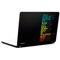 Pics And You Short Quotes 3M/Avery Vinyl Laptop Skin Sticker Decal-SL009