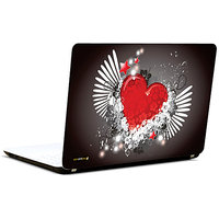 Pics And You Abstract Heart Design 2 3M/Avery Vinyl Laptop Skin Sticker Decal-LV107