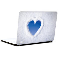 Pics And You Heart In Snow 3M/Avery Vinyl Laptop Skin Sticker Decal-LV058