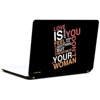 Pics And You Love Is 3M/Avery Vinyl Laptop Skin Sticker Decal-LV100