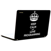 Pics And You Keep Calm Love Programming 2 3M/Avery Vinyl Laptop Skin Sticker Decal-SL023
