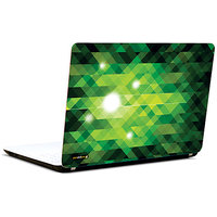 Pics And You Debonair Pattern Green 3M/Avery Vinyl Laptop Skin Sticker Decal - TX044