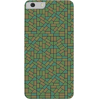 Casotec Structured Design Hard Back Case Cover for Micromax Canvas Knight 2 E471