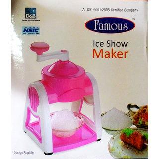 Famous Ice Snow Maker(3-ice bowls,1-glass,6-sticks,1-ice snow dish)