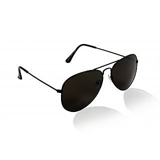 Glitters Black Aviator Sunglasses