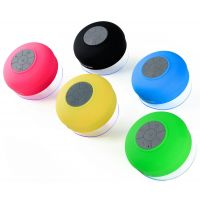 Bluetooth Hands-free Waterproof Shower Speaker ( Multi Colour)