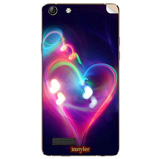 Instyler Mobile Skin Sticker For Micromax Canvas Hue Aq5000 MSMMXCANVASHUEAQ5000DS-10118 CM-3798