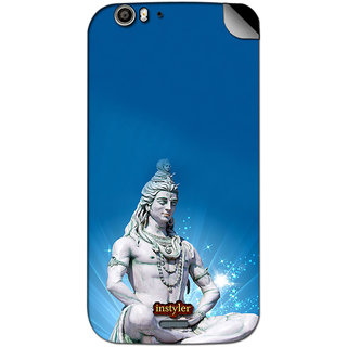 Instyler Mobile Skin Sticker For Micromax Canvas Turbo A250 MSMMXCANVASTURBOA250DS-10101 CM-901