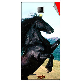 Instyler Mobile Skin Sticker For Micromax Canvas Xpressa99 MSMMXCANVASXPRESSA99DS-10017 CM-497