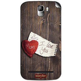 Instyler Mobile Skin Sticker For Micromax Canvas Enticea105 MSMMXCANVASENTICEA105DS-10033 CM-4673
