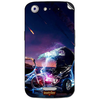 Instyler Mobile Skin Sticker For Micromax Canvas Gold A300 MSMMXCANVASGOLDA300DS-10032 CM-4192