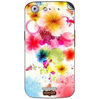 Instyler Mobile Skin Sticker For Micromax Canvas Gold A300 MSMMXCANVASGOLDA300DS-10076 CM-4236