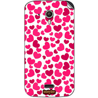Instyler Mobile Skin Sticker For Micromax Canvas Hda116 MSMMXCANVASHDA116DS-10116 CM-4116