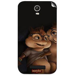 Instyler Mobile Skin Sticker For Micromax Canvas Juice 2Aq5001 MSMMXCANVASJUICE2AQ5001DS-10053 CM-3573