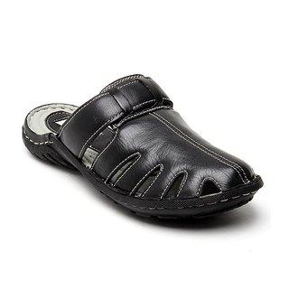 Delize Men's Black Slipers Option 1