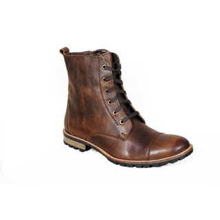 Delize Men's Brown Boots Option 3
