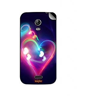 Instyler Mobile Skin Sticker For Micromax Canvas Turbo Minia200 MSMMXCANVASTURBOMINIA200DS-10118 CM-758