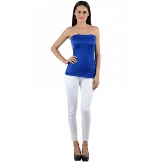 NumBrave Womens Blue Tube Top