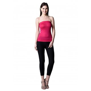 NumBrave Womens Pink Tube Top