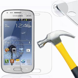 HTCIS Temperd Glass Screen Protecter For Samsung Galaxy S Duos 7582 available at ShopClues for Rs.149