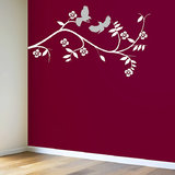 Kakshyaachitra Birds-On-The-Wall-Decal  Wall Stickers