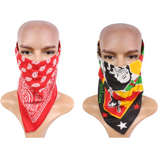 Sushito  Set Of Two Multi Functional Headwrap JSMFHHR0188-FHHR0189