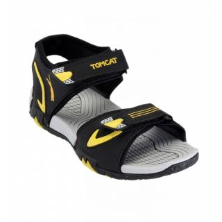 TOMCAT Men BlkYlw Floater Sandal 293