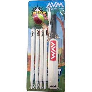AVM KIDS CRICKET SET 4 PCS WITHOUT BASE