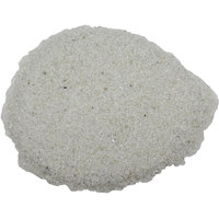 Aquarium decoration gravel stone white color pebbles  fish tank purpose 1 Kg- Sm
