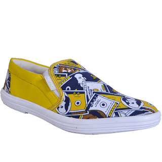 Smithsoul Yellow Casual Shoes