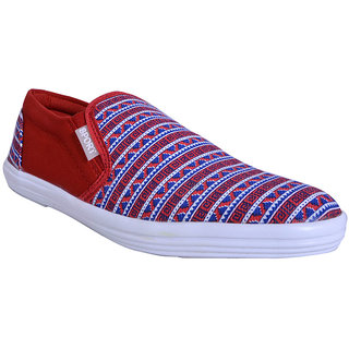 Smithsoul Stylish Red Casual Shoes