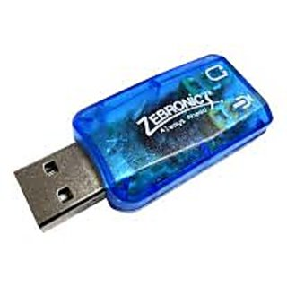 USB Sound Audio Controller Zebronics