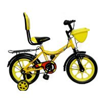 Addo India Kitty 14 Inches  Yellow Kids Bicycle