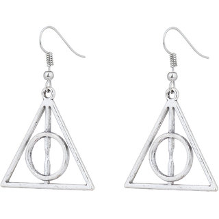 Accessorisingg Harry Potter Deathly Hallows Earrings ER008