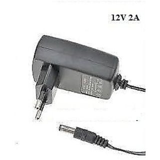 Power Adaptor 12 Volt 2 Amp Charger AC INPUT 100-240V DC OUTPUT 12V 2A