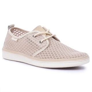 Spunk Men Beige Casual Shoes