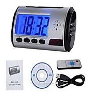 Spy Digital Table Clock Camera