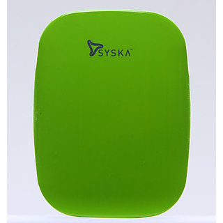 Syska Magic Stone 6000mAh Power Bank With 6 Month Replacement Warranty available at ShopClues for Rs.2399