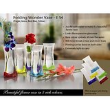 Flower Vase Folding Wonder Vase Set Of 4 Different Colours