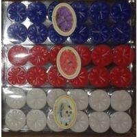 Diwali Special Pack Of 36 Designer Tealights With 3 Fragrance In 3 Color Tlight.