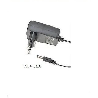 Power Adaptor 7.5 Volt 1 Amp Charger AC INPUT 100-240V DC OUTPUT 7.5V 1A