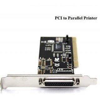PCI TO PARALLEL 25 PIN FEMALE PCI Printer LPT Card I/O Card for Addtinal Printer